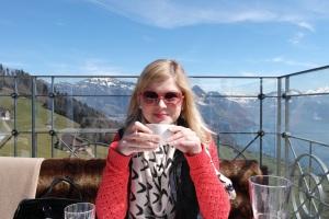 Enjoying lunch at Hotel Villa Hotel Villa Hoenegg