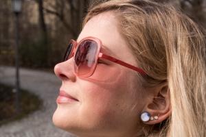 Nose in the sun in Munich