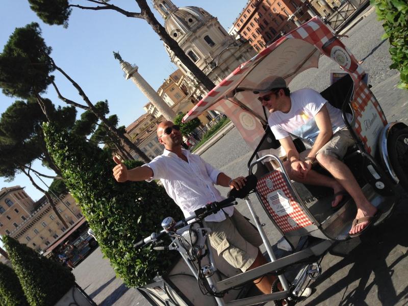 Eco-rickshaw tour service