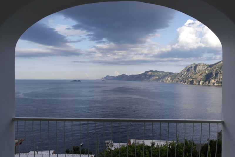 Praiano - view from balcony