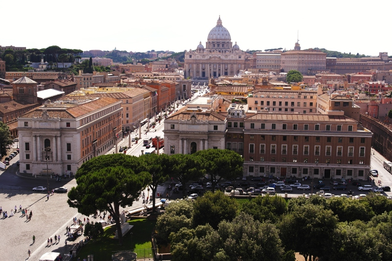View from Castel Sant'Angelo