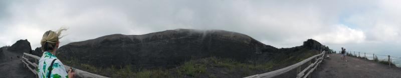 On top of Vesuvius