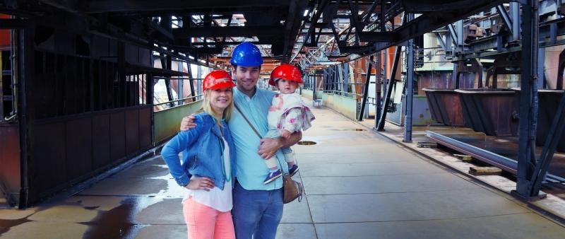 Family trip to Voelklinger Huette