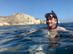 Snorkeling Santorini